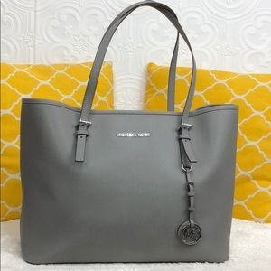 🌸OFFERS?🌸Michael Kors Elephant🐘 Gray Large Tote